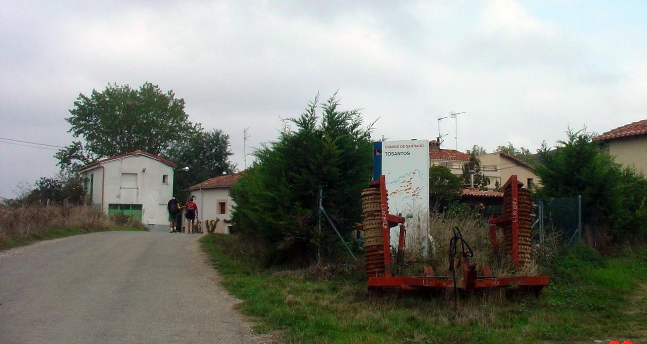Ortseingang Tosantos