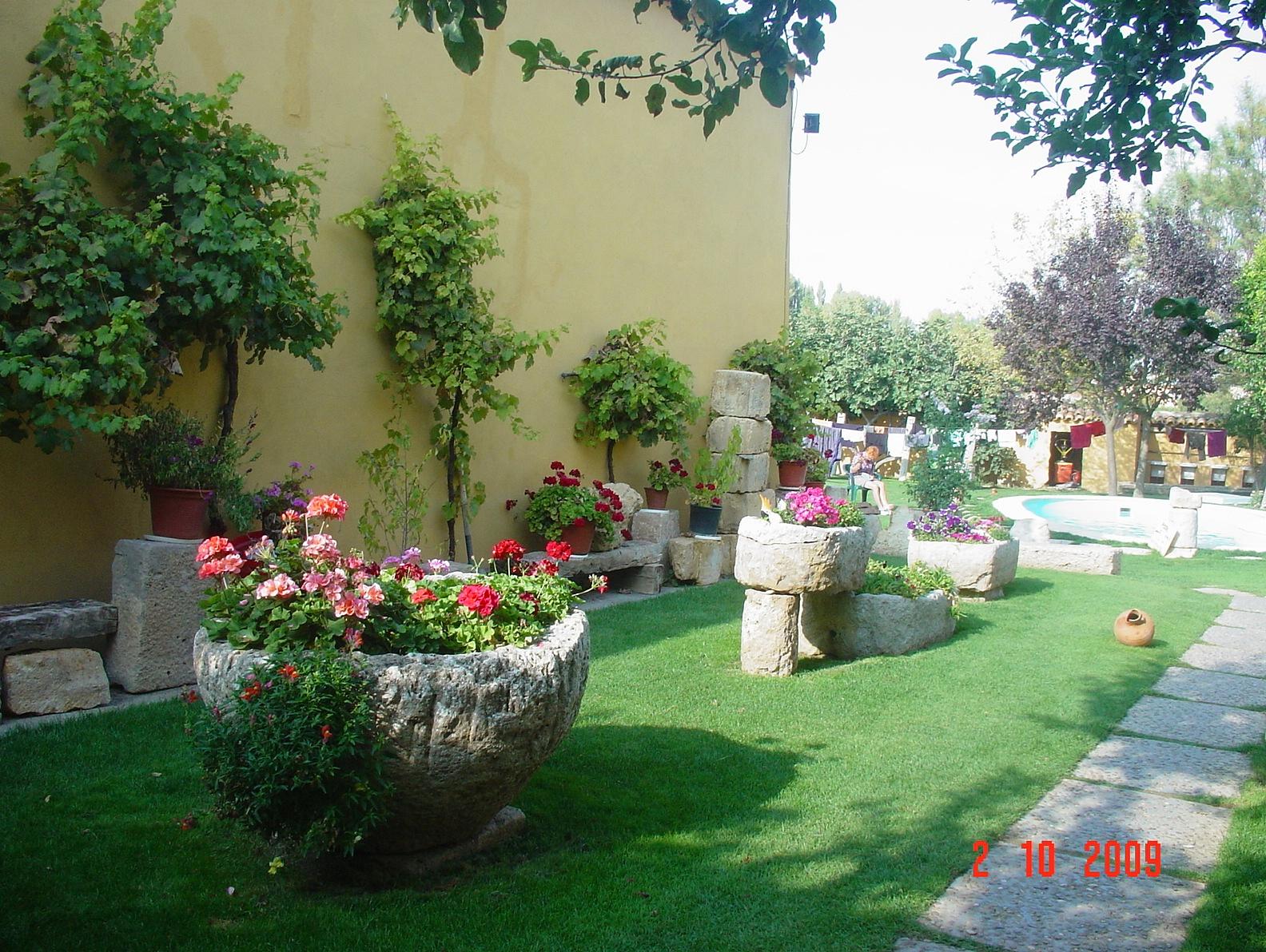 die wunderschöne Herberge mit einer einzigartigen Gartenanlage