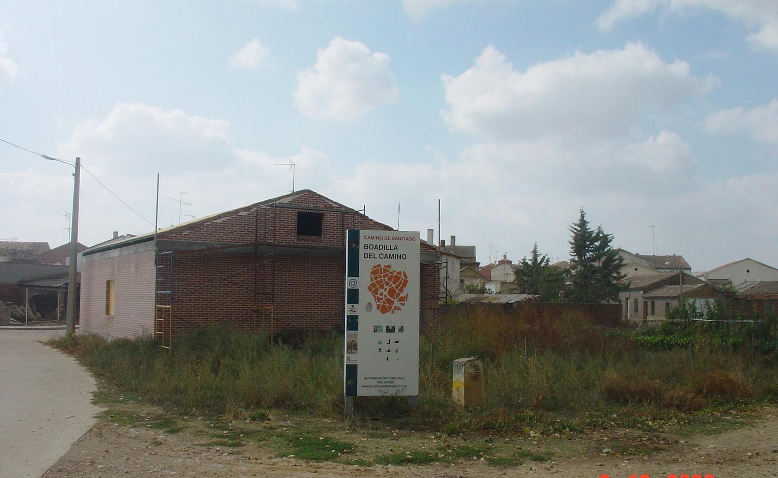 der Zielort der Etappe Bodilla del Camino