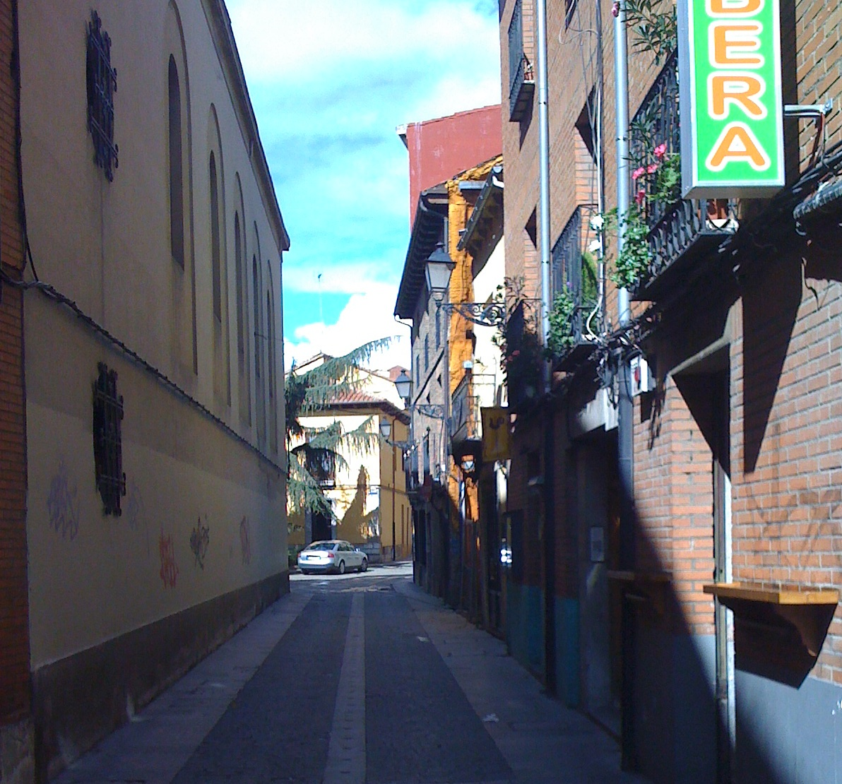 in den Straßen von Leon