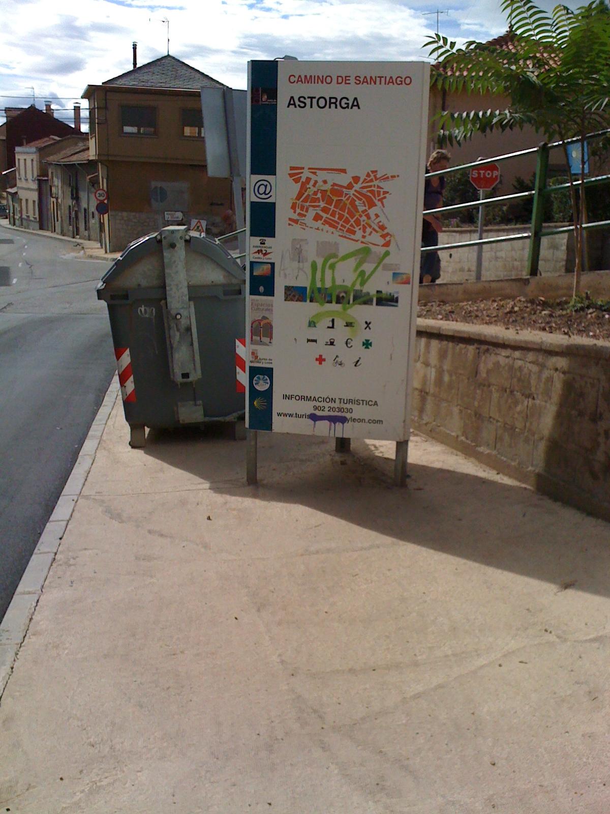 ich habe Astorga erreicht