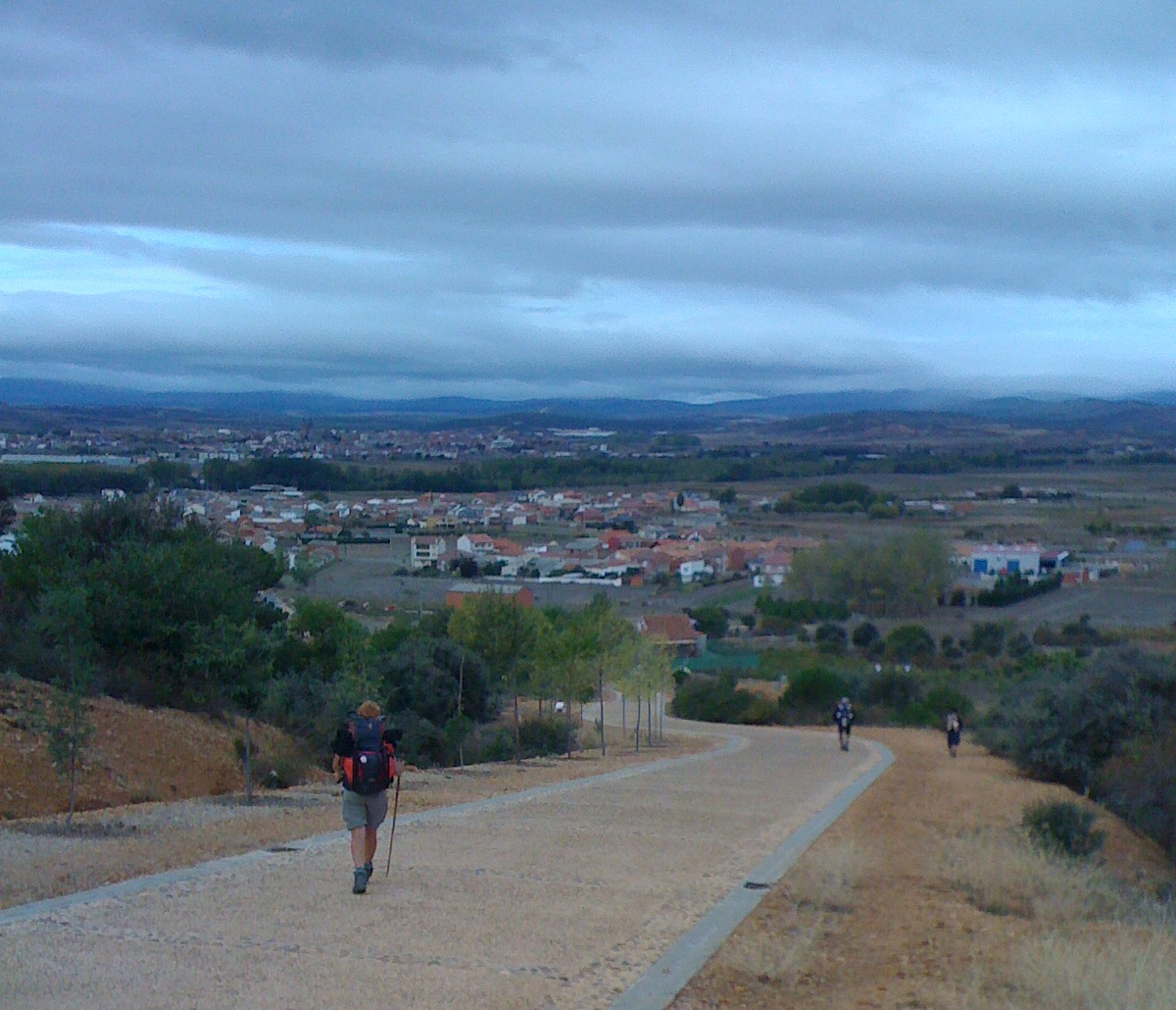 auf dem Weg nach Astorga