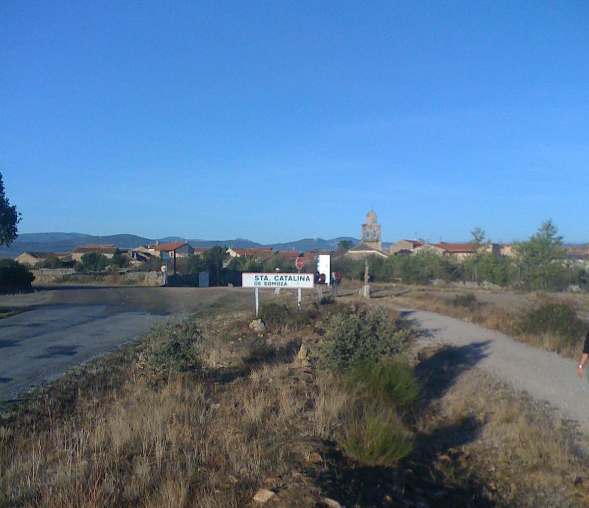 Santa Catalina, auf dem Weg nach Foncebadon