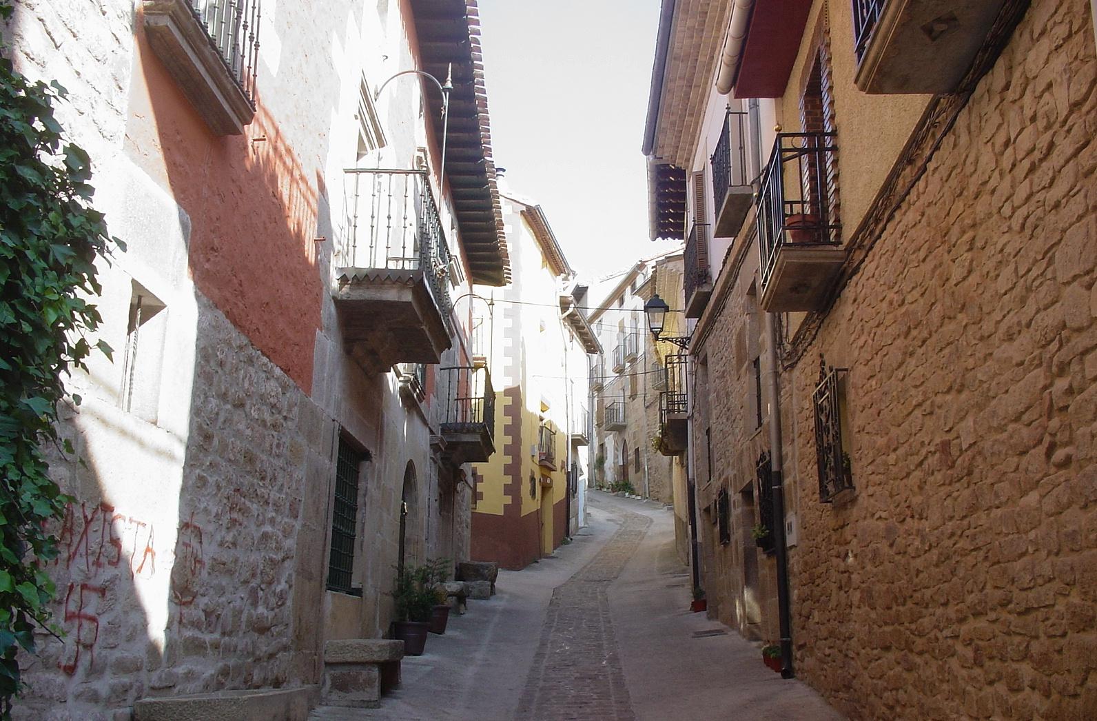in den Straßen der hübschen Kleinstadt Lorca