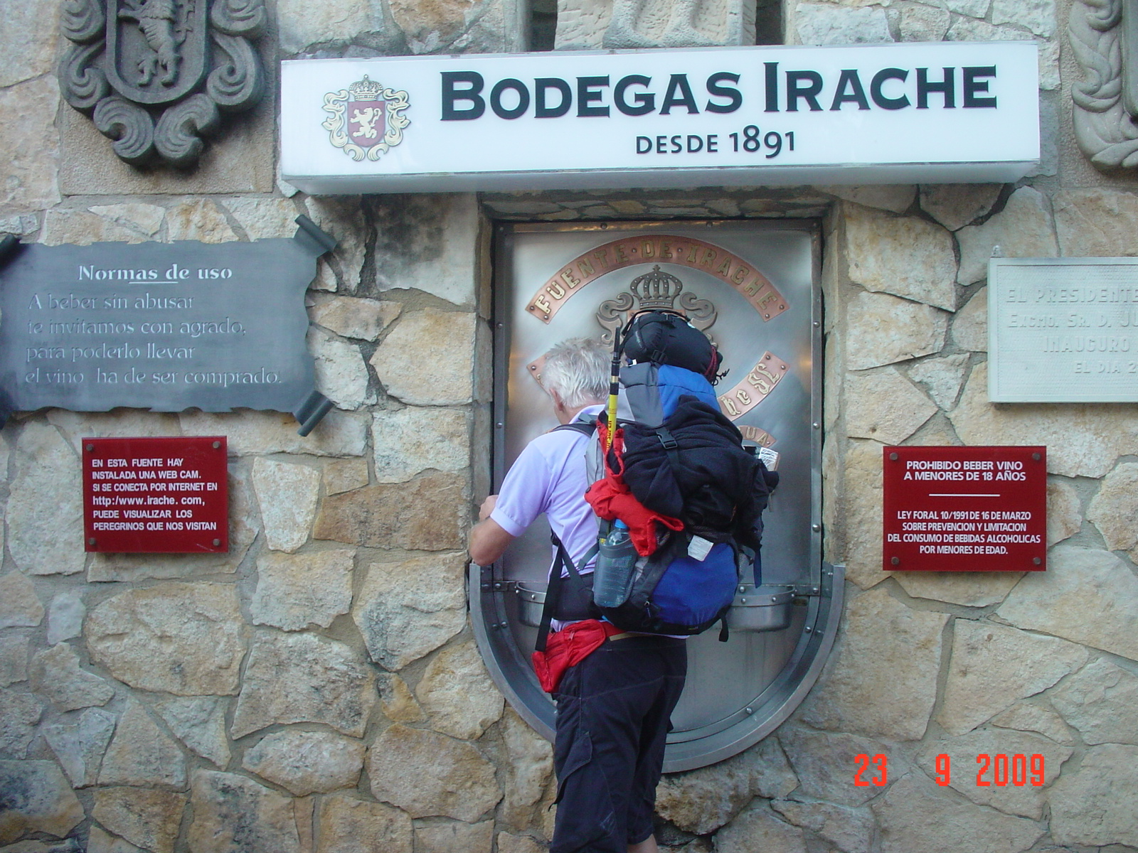 Fuente de Vino, Bodegas Irache