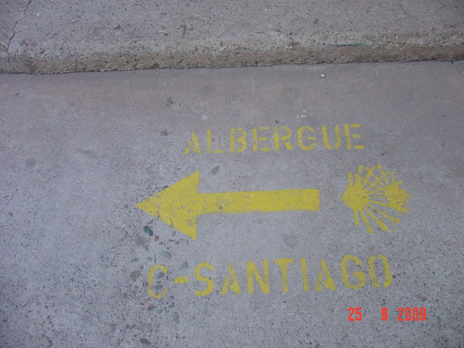 ab in die Albergo Camino-Santiago
