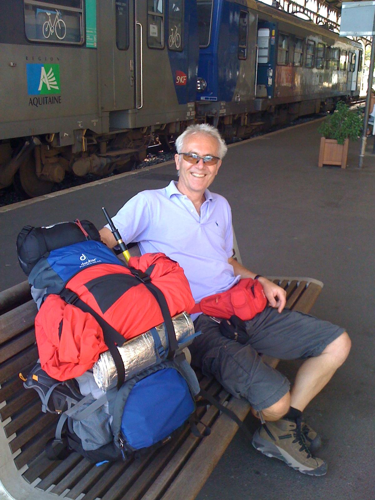 Zwischenstation in der wunderschönen Stadt Pau/Südfrankreich