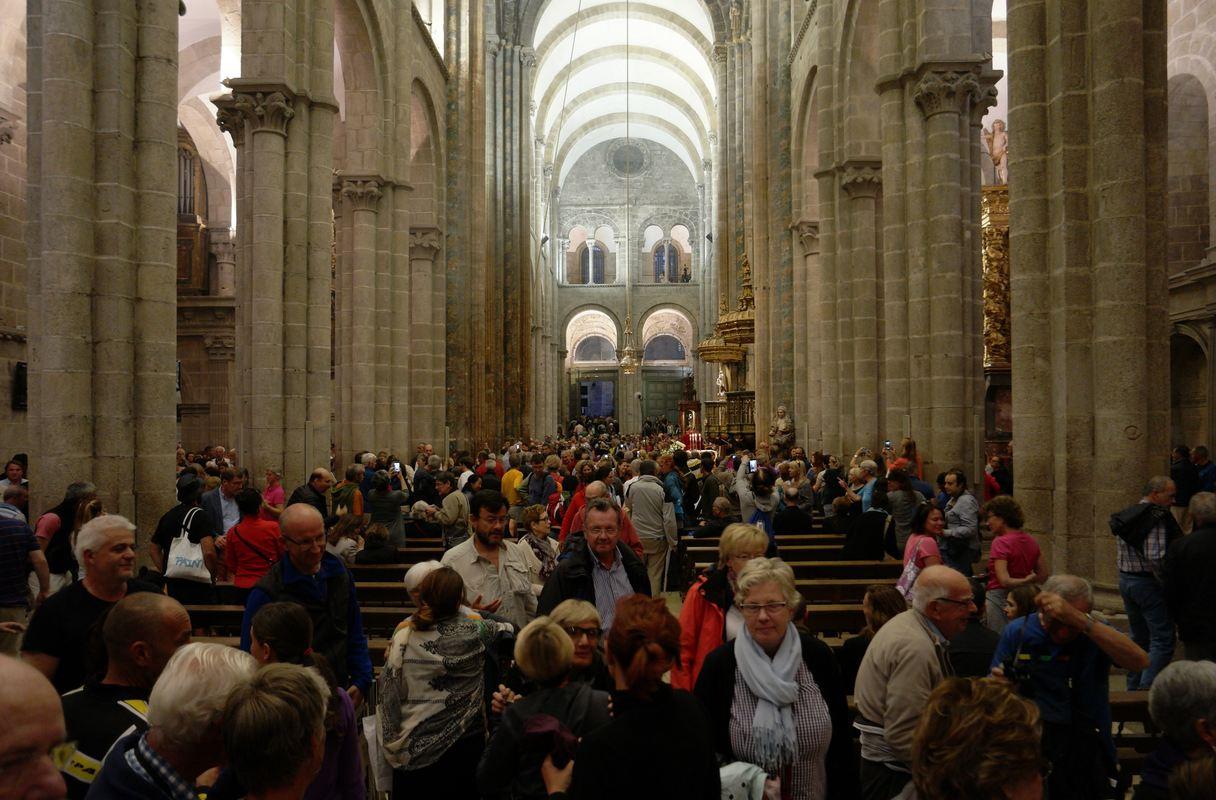 Pilgermesse in der Kathedrale